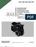 Briggs & Stratton 133200 Operator Owner's Manual