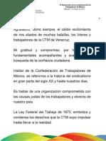 07 05 2011 75 Aniversario de la Confederación de Trabajadores de México