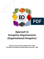 Approach to Organizational Energetics