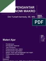 Pengantar Makro 1