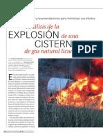 Analisis Explosion Cisterna GLP