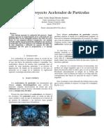 informe acelerador particulas