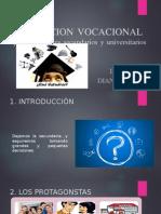 ORIENTCION VOCACIONAL para estudiantes secundarios y universitarios