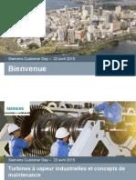 Turbines Vapeur Industrielles