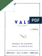 Vals en La Menor - Alfonso Broqua