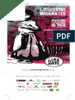 Programa Cine Migrante Barcelona 2015