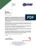 CARTA Auspicio- TU REGALO PERFECTO.doc