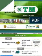Slide V3 Presentaron el Observatorio Turístico Misiones