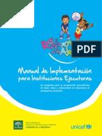 Manual de Implementacion Estrategía Retorno a la alegría UNICEF
