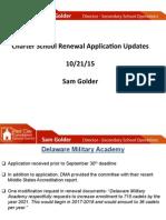 Charter Renewal Updates Board 102115