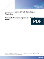Visio 2010 Developer Training 03 - Programming With the Visio Object Model