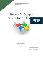 Descriptor de Cargos Trabajo 2 (1)