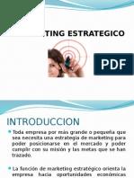 Marketing Estrategico Diapositivas