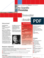 Sea Water Desalination