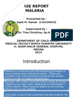 Malaria Presentation PPT