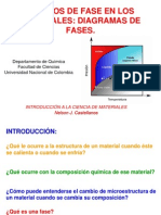 Clase Diagramas de Fases