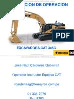 Curso Instruccion Operacion Excavadora Hidraulica 345cl Caterpillar Ferreyros