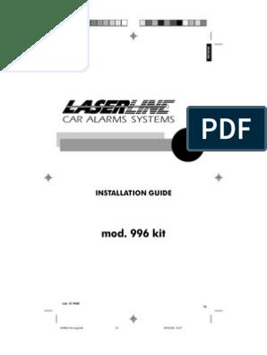 [WQZT_9871]  laserline alarm mod 996 | Remote Control | Switch | Laserline Car Alarm Wiring Diagram |  | Scribd