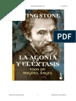 Miguel Angel Agonia y extasis del genio de Florencia - Irving Stone