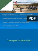 Funcion de La Educacion en La Sociedad