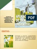 Aplicación de Técnicas Preventivas TN - Geologia.
