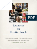 Resources for Creative People