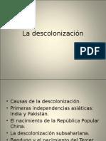 La Descolonizacion