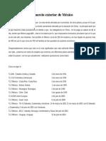 Cronología Del Comercio Exterior de México