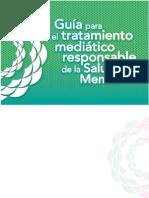 Guia para el Tratamiento Mediático de la Salud Mental en los Medios