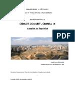 Cidade Constitucional IX - A Capital da República