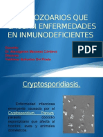 4.-Protozoos Que Causan Enfermedad en Inmunodeficientes