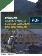 Panduan Valuasi Ekonomi SDA Dan Lingk - KemenLH 2007