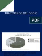 Trastornos Del Sodio Fisiopatología