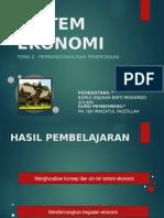 Sistem Ekonomi Islam (Sejarah Islam)