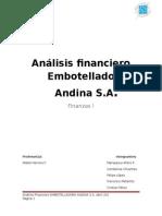 [Finanzas I] Informe Trabajo 1