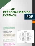 Test de Personalidad de Eysenck