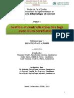 Gestion Et Centralisation Des Logs Avec Leurs Corrélationsl