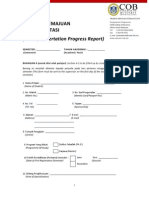 1c-DBA Dissertation Progress Report Form