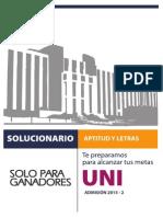 2015-2 Uni Original Aptitud