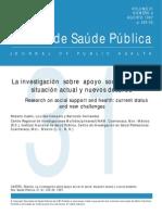Apoyo Social y Salud