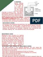 4 Resistance Oven & Temprature Control