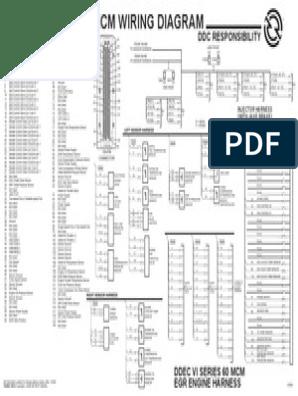 Ddec 6 Wiring Diagram - Wiring Diagram Go M Freightliner Wiring Schematics on