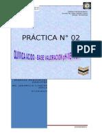 PRÁCTICA N 2 pH