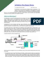 Patrick J.Kelly - Guida agli Elettrolizzatori (inglese)