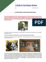 Patrick J.Kelly - Elettrolisi Impulsiva Superefficiente (inglese)