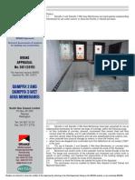Branz Appraisal Dampfix 2 & 3 581 2015