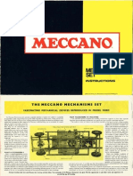 Meccano - Mechanisms Manual - 1970