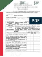 Ficha Consejos Técnicos Escolares Correcciones
