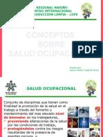 1. Conceptos Sobre La Salud Ocupacional