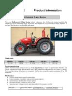 Boletín 2004 de especificaciones Serie C-Max McCormick